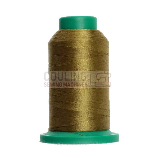 Isacord Polyester Embroidery Machine Thread 1000m - Caper Green 6133