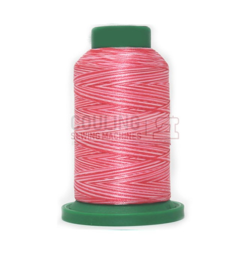 Isacord Polyester Embroidery Machine Thread 1000m - Multi Colour Sweetheart Pink 9405
