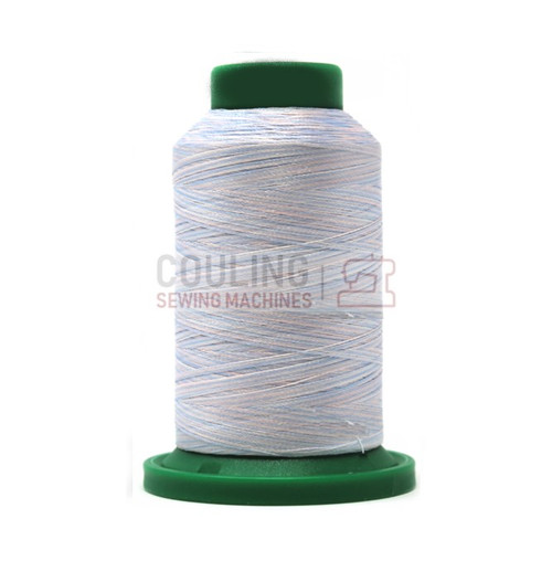 Isacord Polyester Embroidery Machine Thread 1000m - Multi Colour Baby Blue 9506