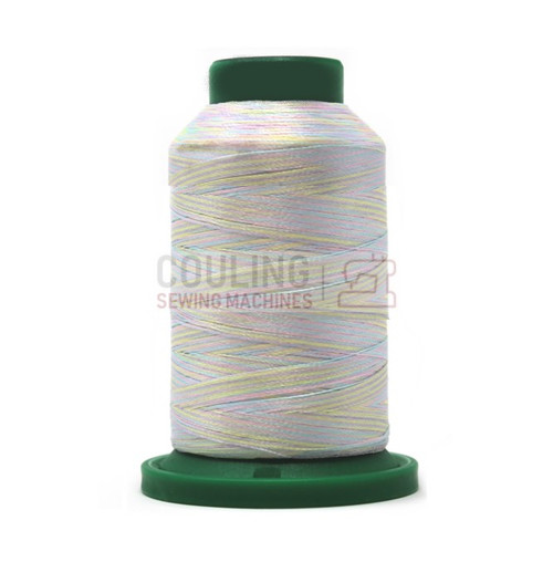 Isacord Polyester Embroidery Machine Thread 1000m - Multi Colour Baby Girl 9909