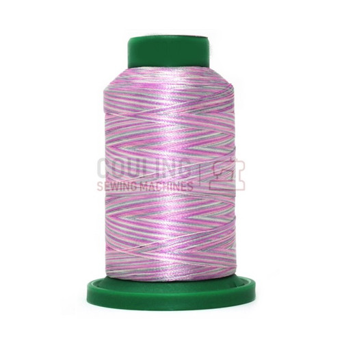 Isacord Polyester Embroidery Machine Thread 1000m - Multi Colour Tulip Pink 9912