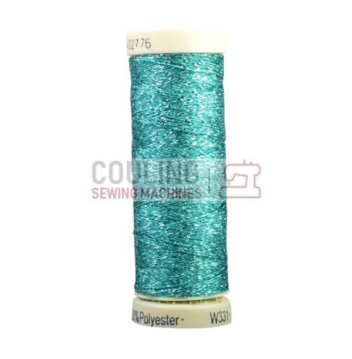 Gutermann Metallic Effect Thread 50m - Sea Green Turquoise 235
