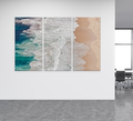 Where The Ocean Ends Triptych