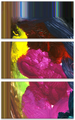 Misfire Vertical Triptych