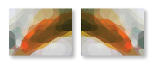 Plume Diptych
