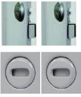 2 x Mortise slam latches with Cylinder and 2 x Screwdriver Cam Latches dollar180 5 days California Access Doors
