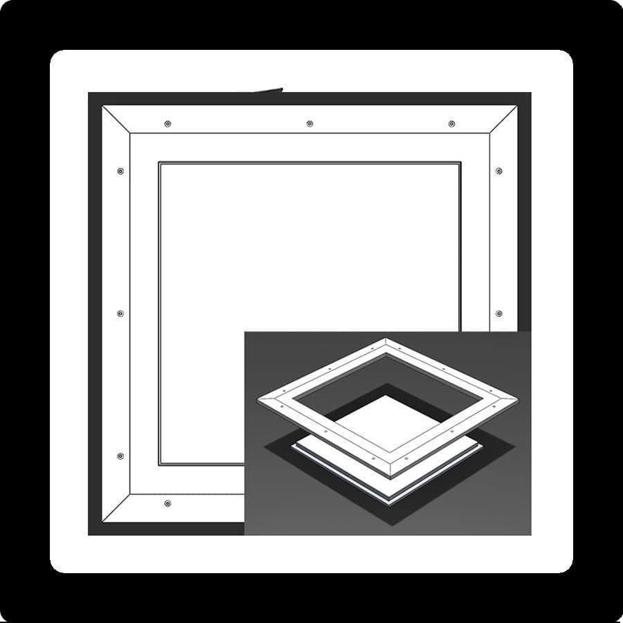 Pop-Out Square Corner