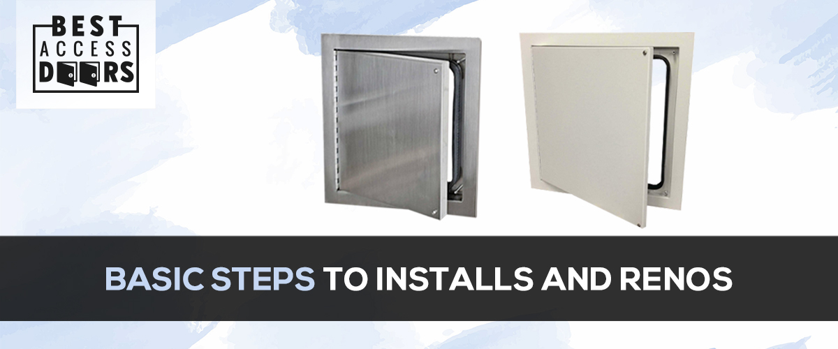 Basic Steps to Installs and Renos