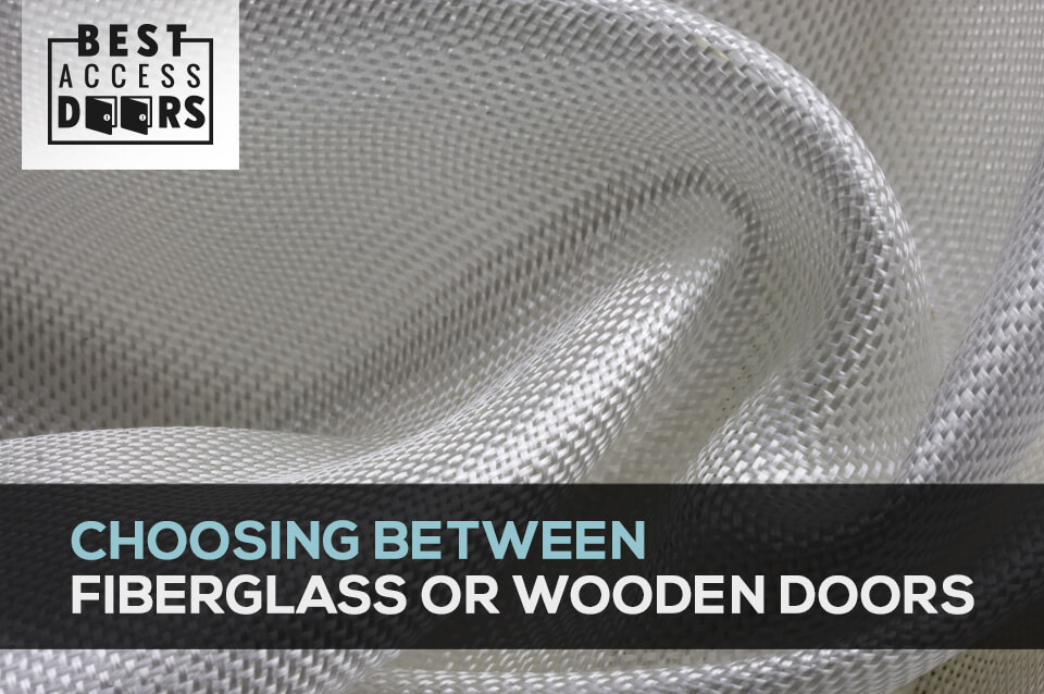 Choosing Between Fiberglass or Wooden Doors