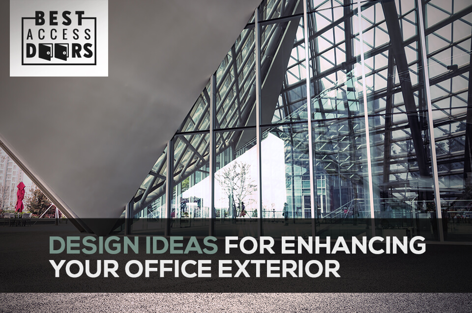Design Ideas for Enhancing Your Office Exterior