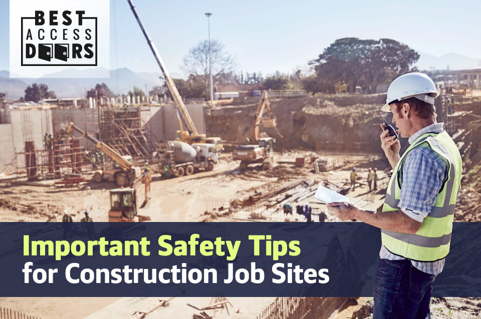 Important Safety Tips for Construction Job Sites