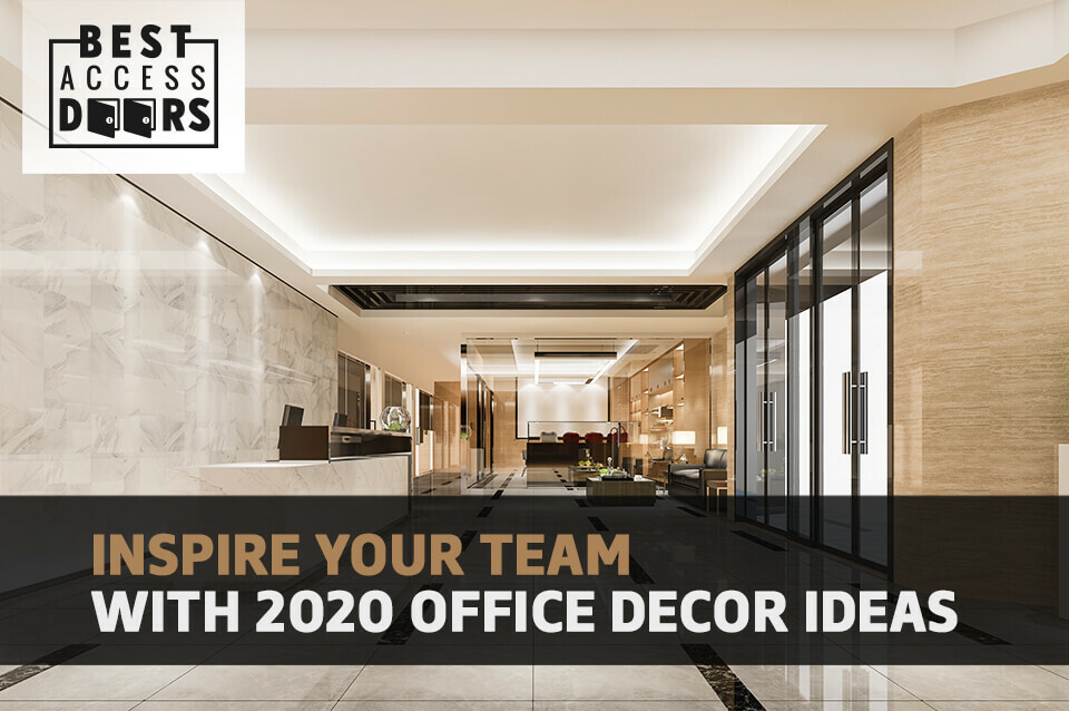 Inspire Your Team With 2020 Office Decor Ideas