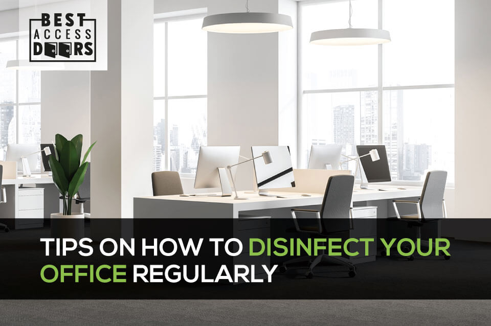 Tips on How to Disinfect Your Office Regularly