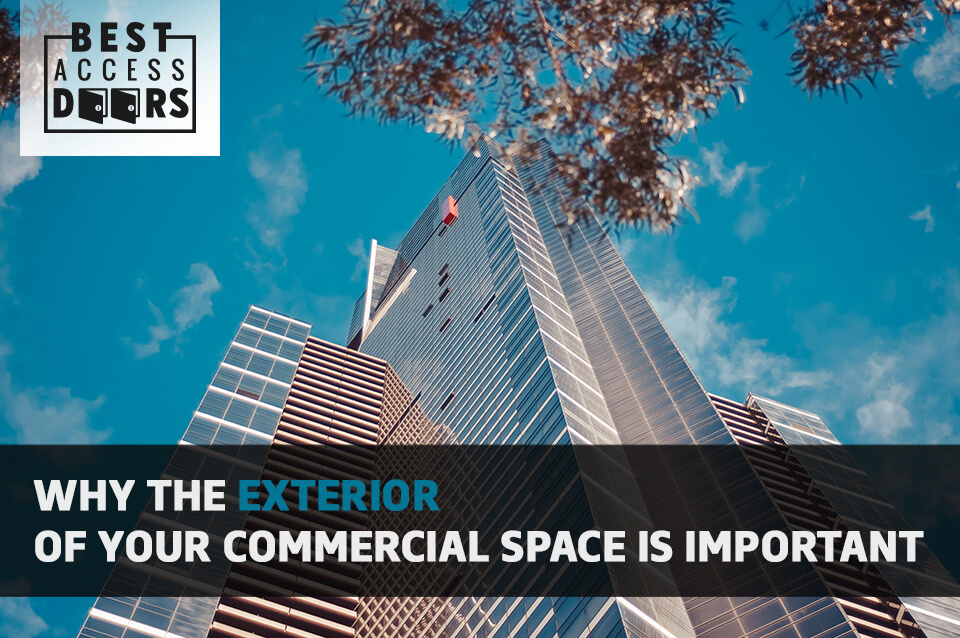 Why the Exterior of Your Commercial Space is Important
