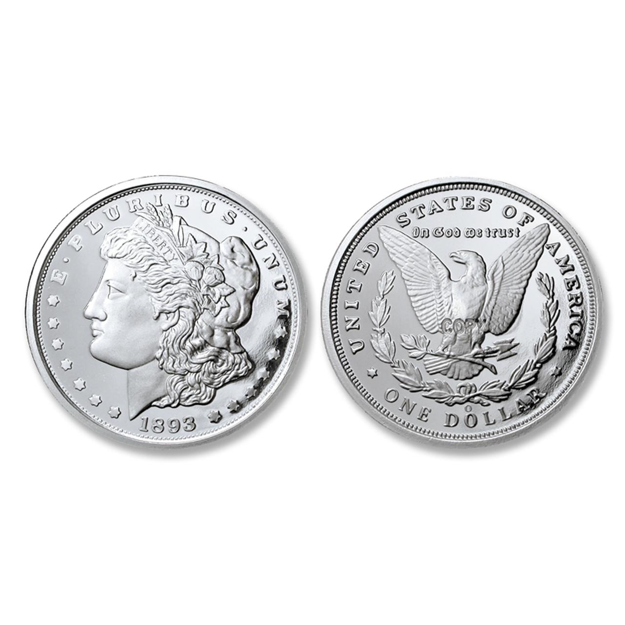 1893-O Morgan Silver Dollar Tribute Proof