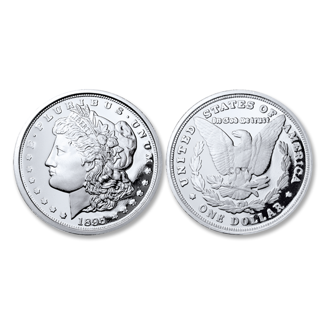 1895-P Morgan Silver Dollar Tribute Proof