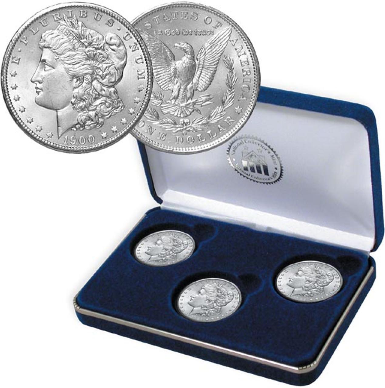 Turn of the Century Morgan Silver Dollar Set