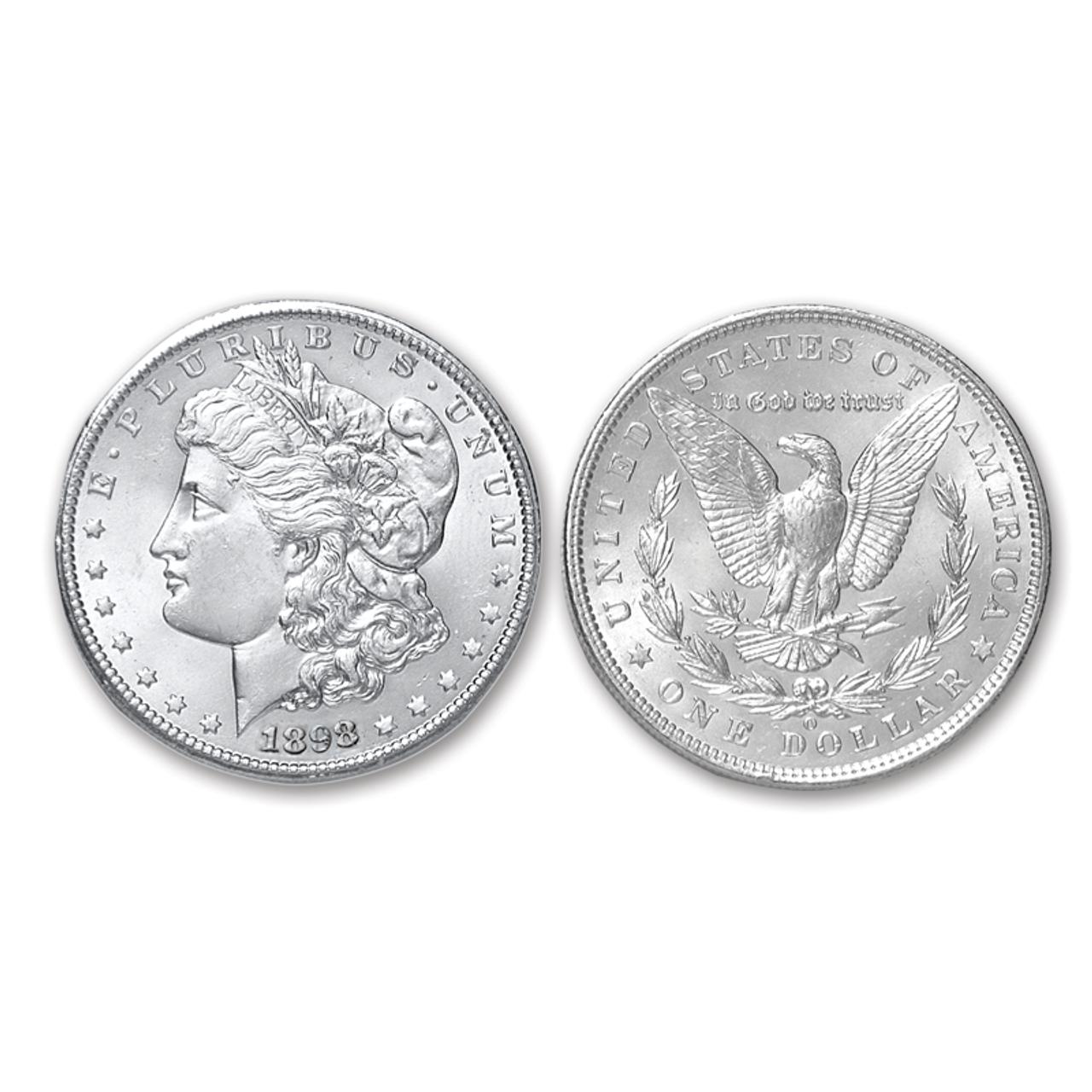 1898-O Morgan Silver Dollar Brilliant Uncirculated