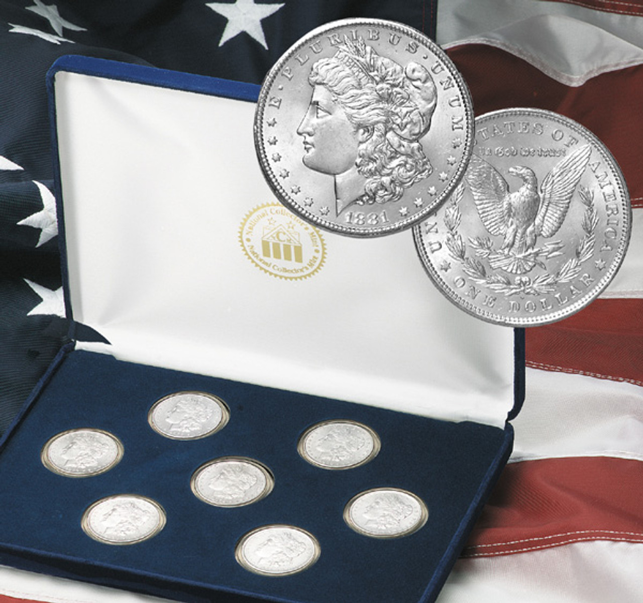 1st Seven Years New Orleans Morgan Silver Dollar