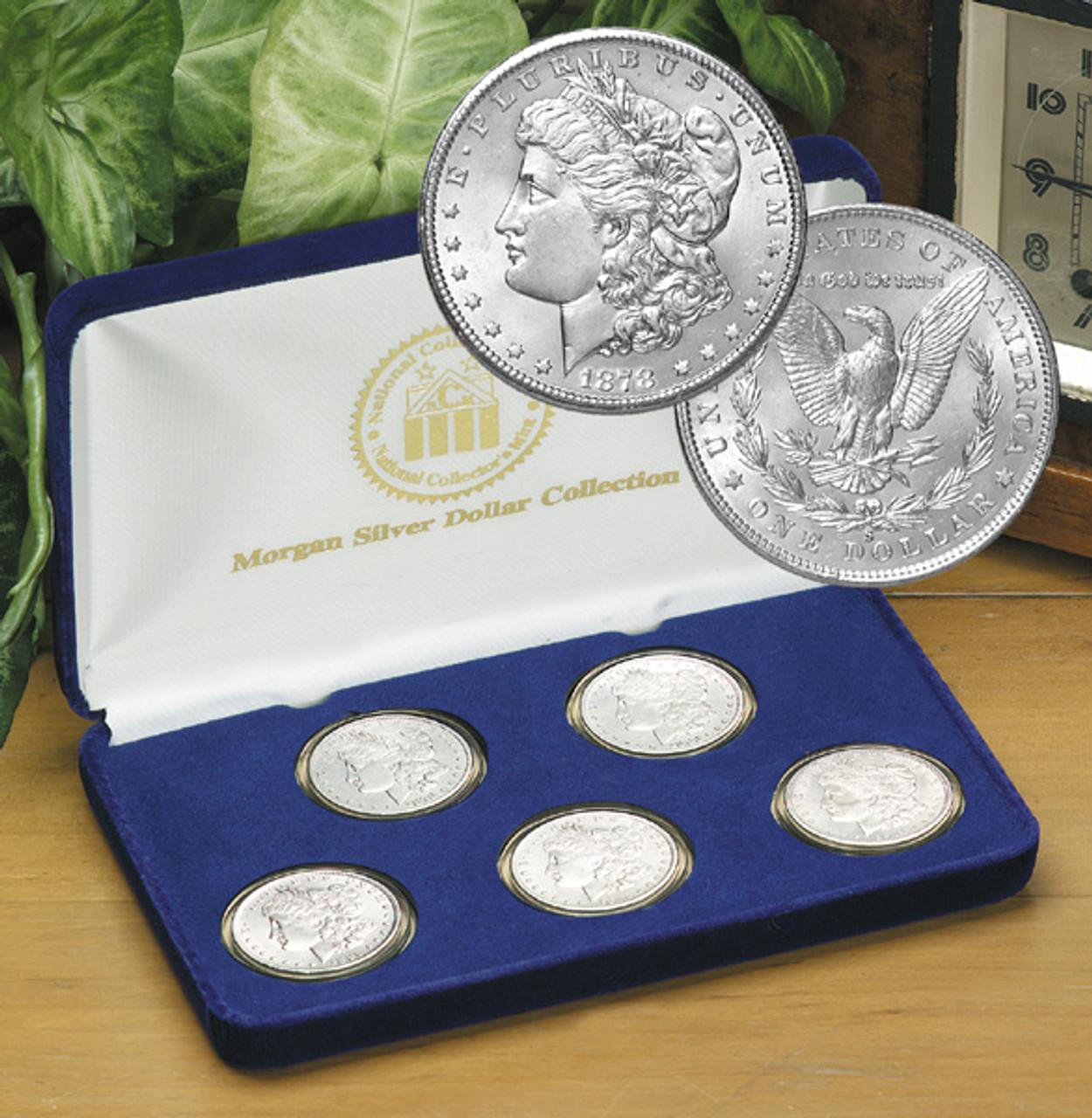 First 5 Years SF Morgan Silver Dollar Set