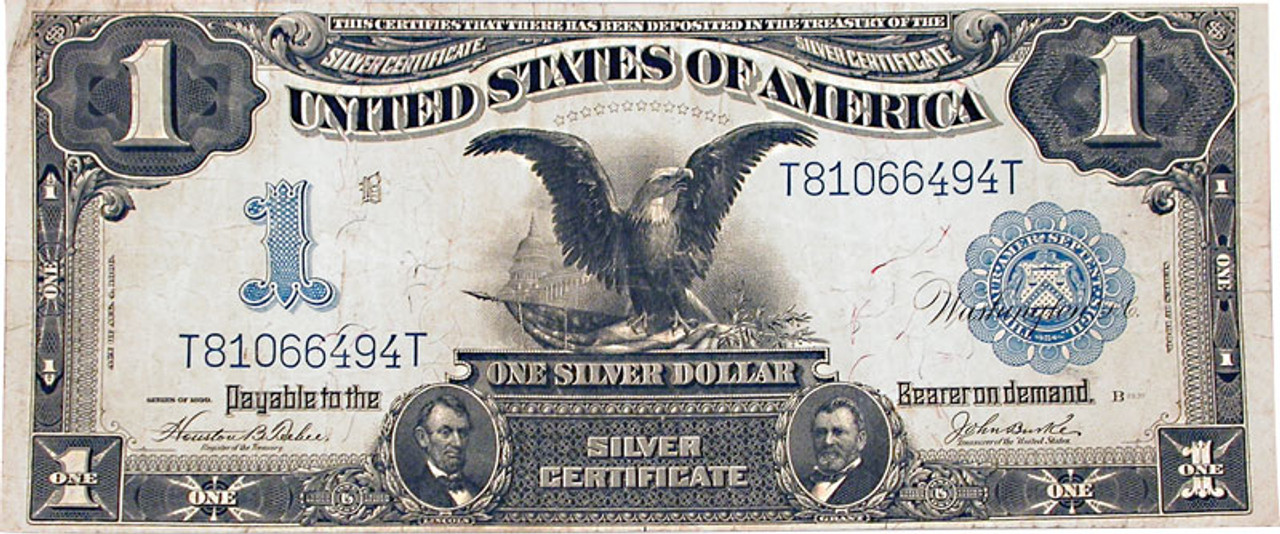 "Famous ""Black Eagle"" $1 Silver Certificate"