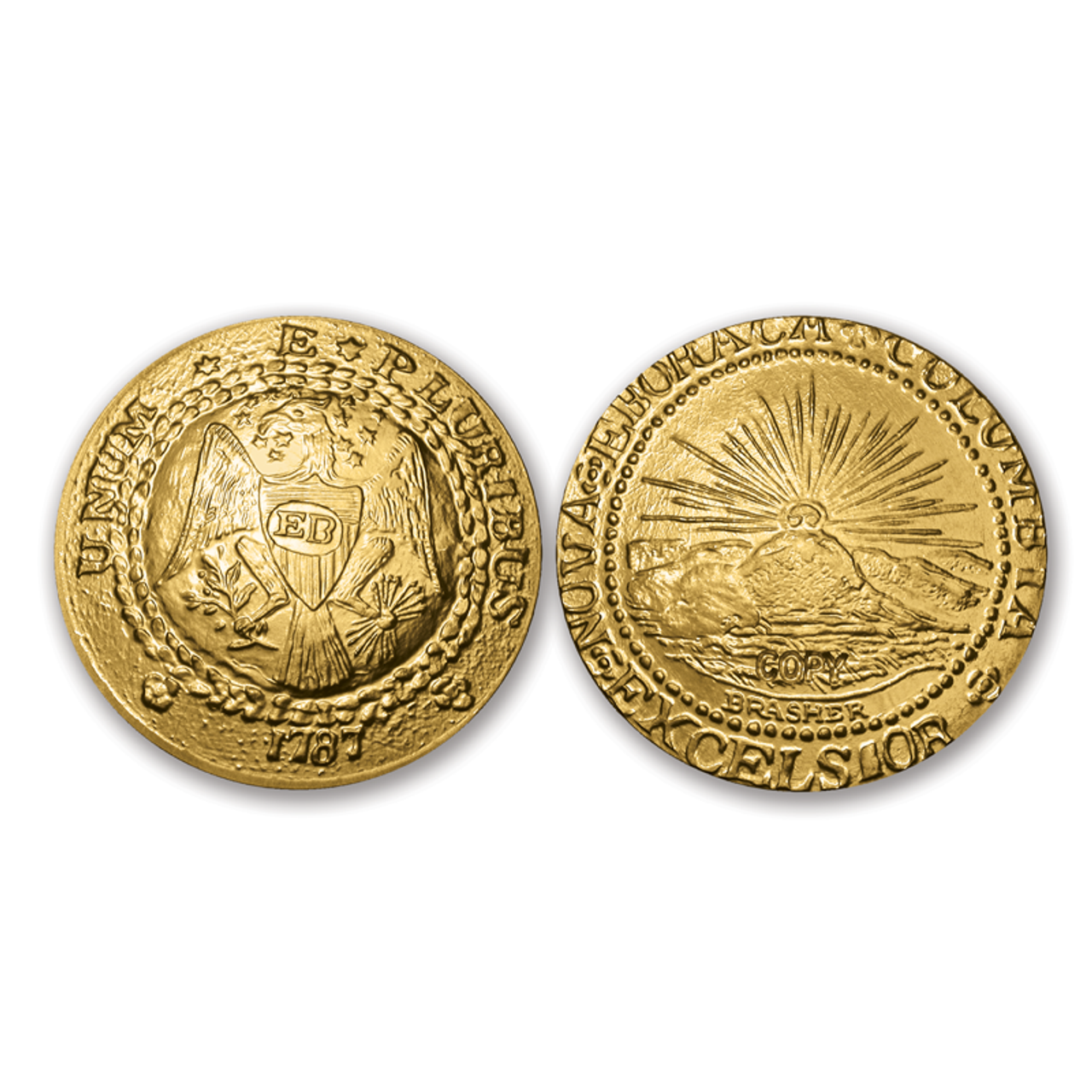 Brasher Doubloon Tribute Proof