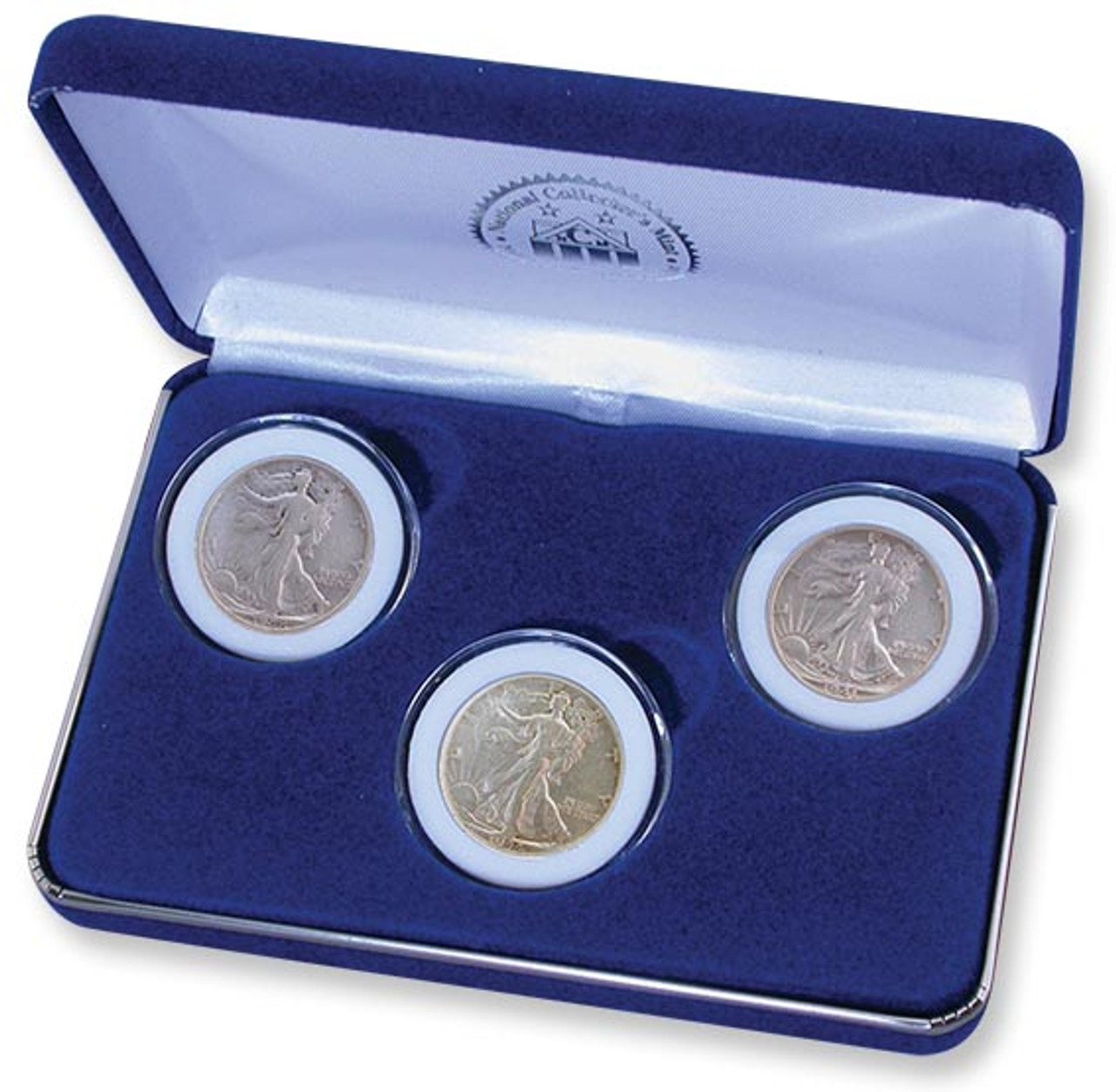 Walking Liberty Half Dollar Mint Mark Set