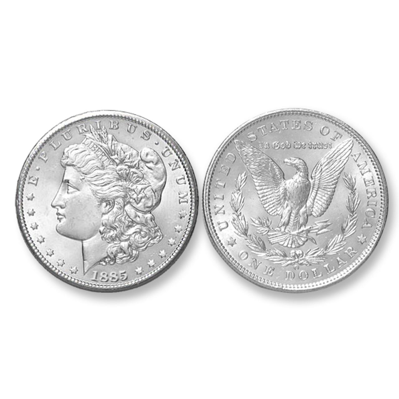 1885-O Morgan Silver Dollar - Brilliant Uncirculated Condition