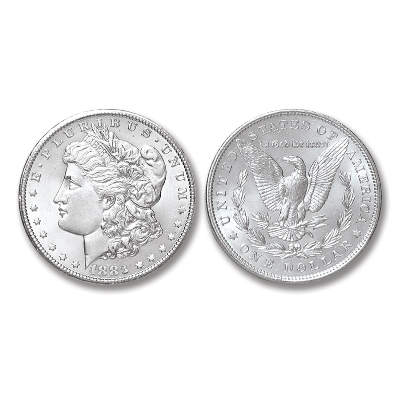 1883-P Morgan Silver Dollar - Brilliant Uncirculated Condition