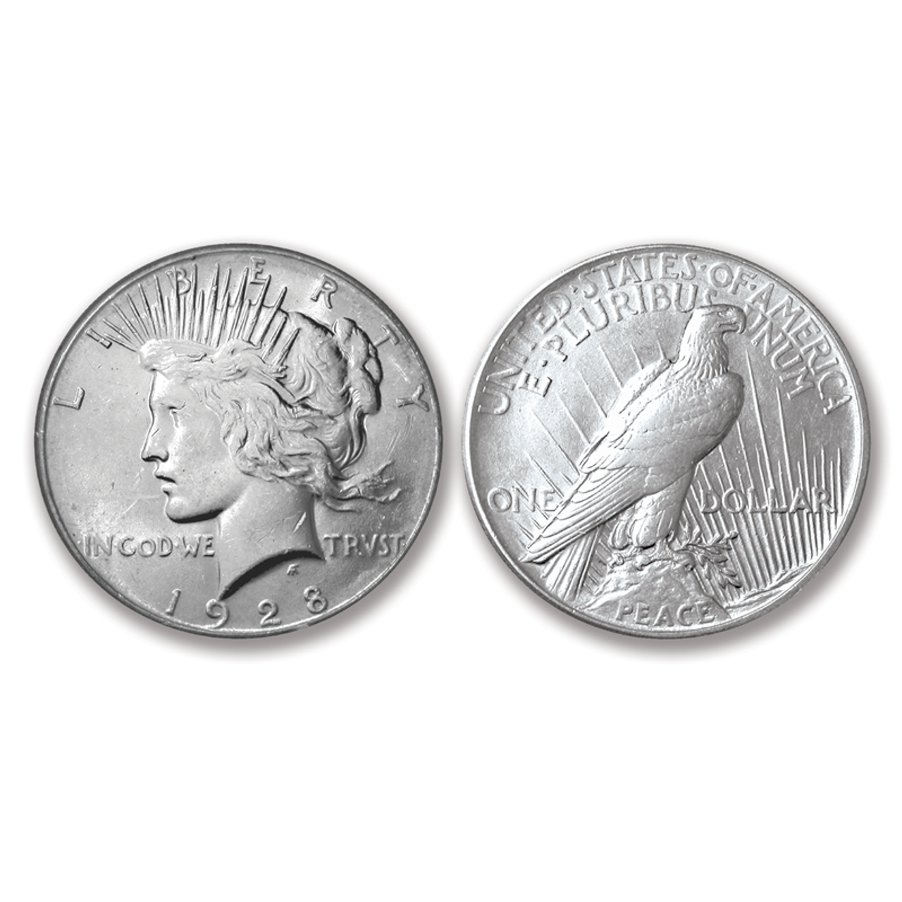 1928 Peace Dollar XF-BU