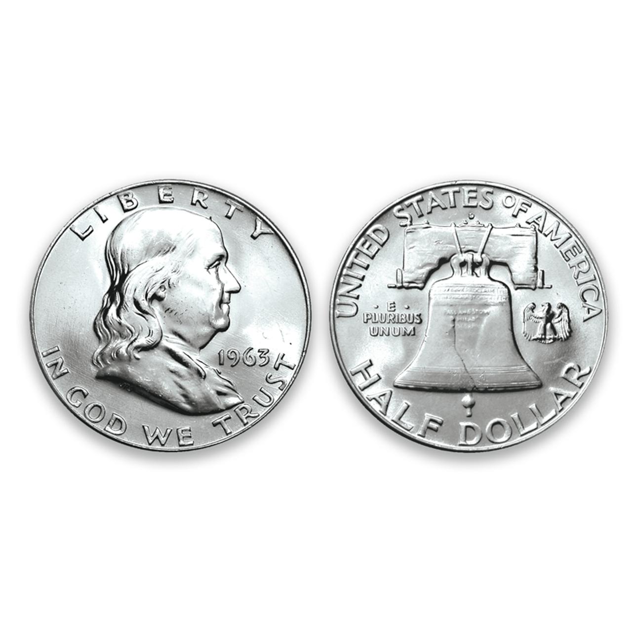 BU Franklin Half Dollar ... Dates and Mints Our Choice