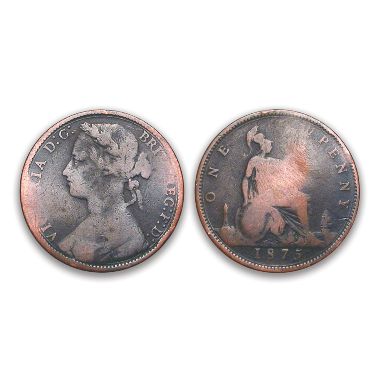 Jack the Ripper Victorian Penny
