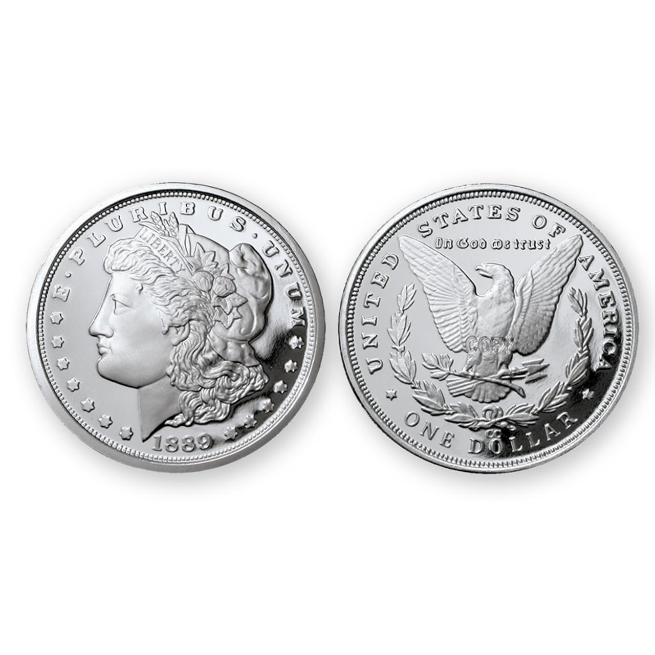 1889-CC Morgan Dollar Tribute Proof