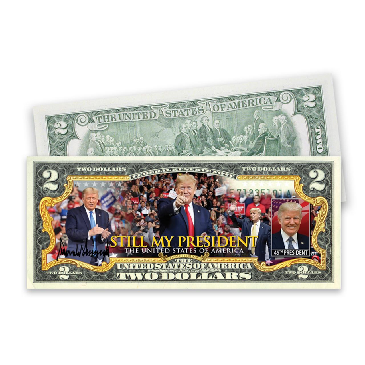 Trump 2021 Presidential $2 Bill
