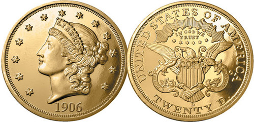 First-Year-of-Issue Double Eagle Tribute Proof Set