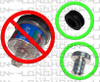 Air Intake Filter Indicator Plug WITH New Grommet | 201058-G