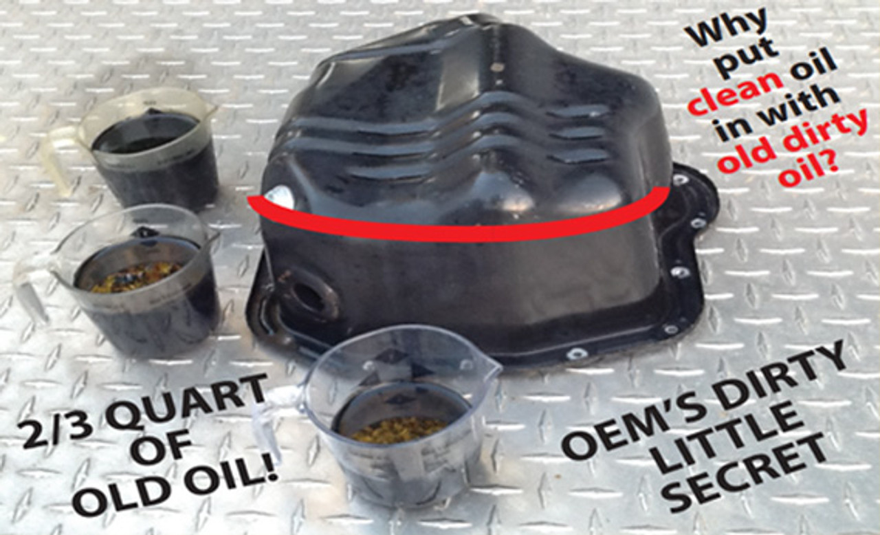 2001 to 2010 Duramax Replacement Oil Pan The Banana Pan w//Cold Weather Heater Kit
