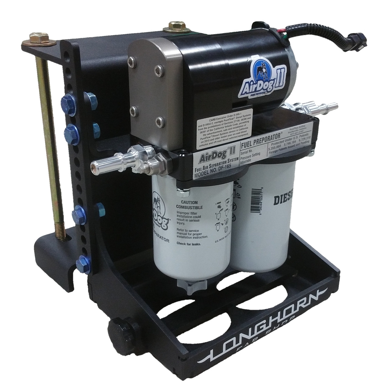 Heavy Duty AirDog Mount and Skid Plate | 200997
