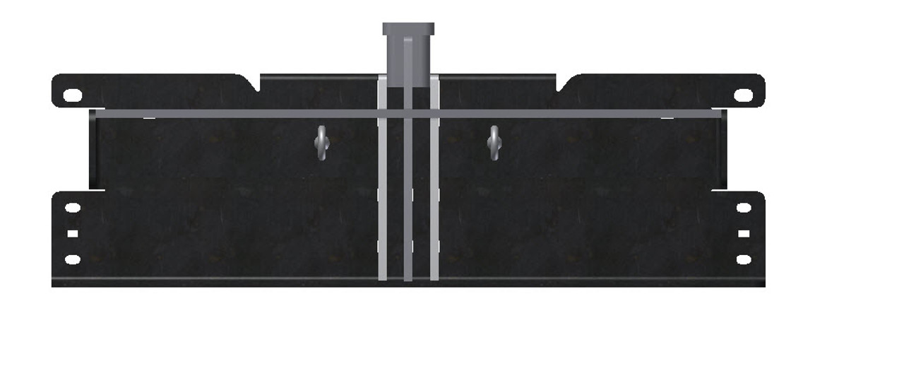 Duramax   Sled Pulling Hitch   Through the Roll Pan   200990
