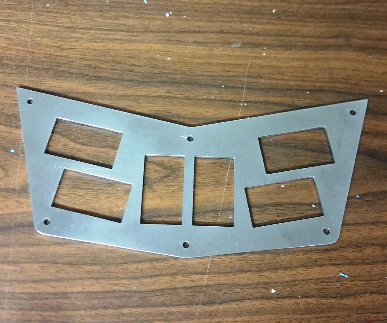 RZR  | 570/800/900 Switch Plate | 6 Rocker Switch | RZR-201030