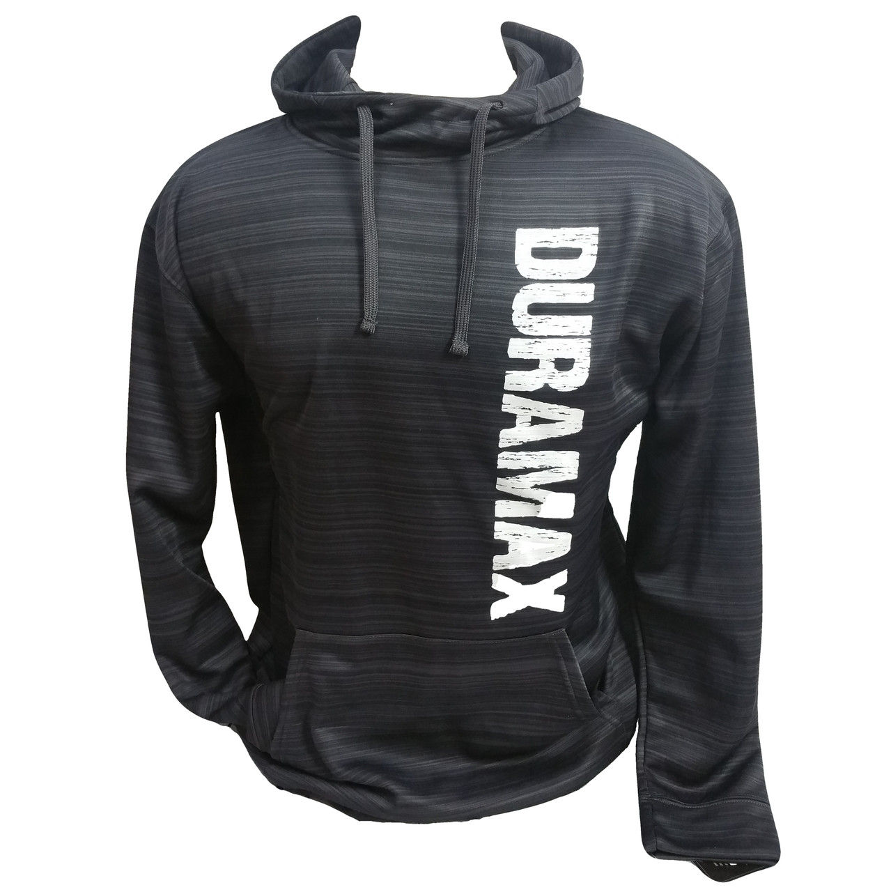 DURAMAXGEAR | PERFORMANCE HOODIE | VERTICAL DISTRESSED DURAMAX | T0028