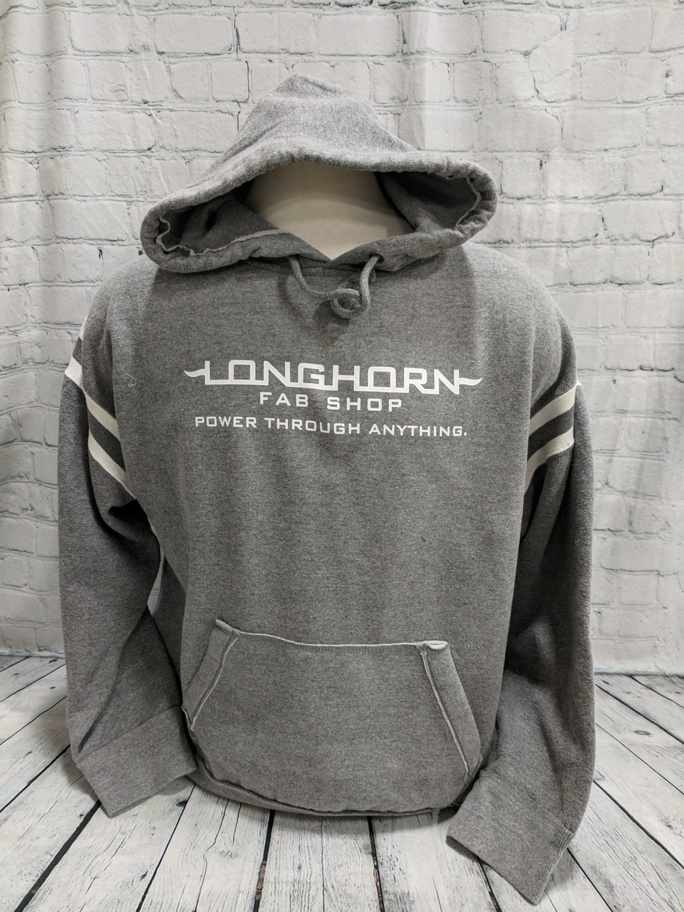 Longhorn Gear | Varsity Hoodie | White Logo | 201027