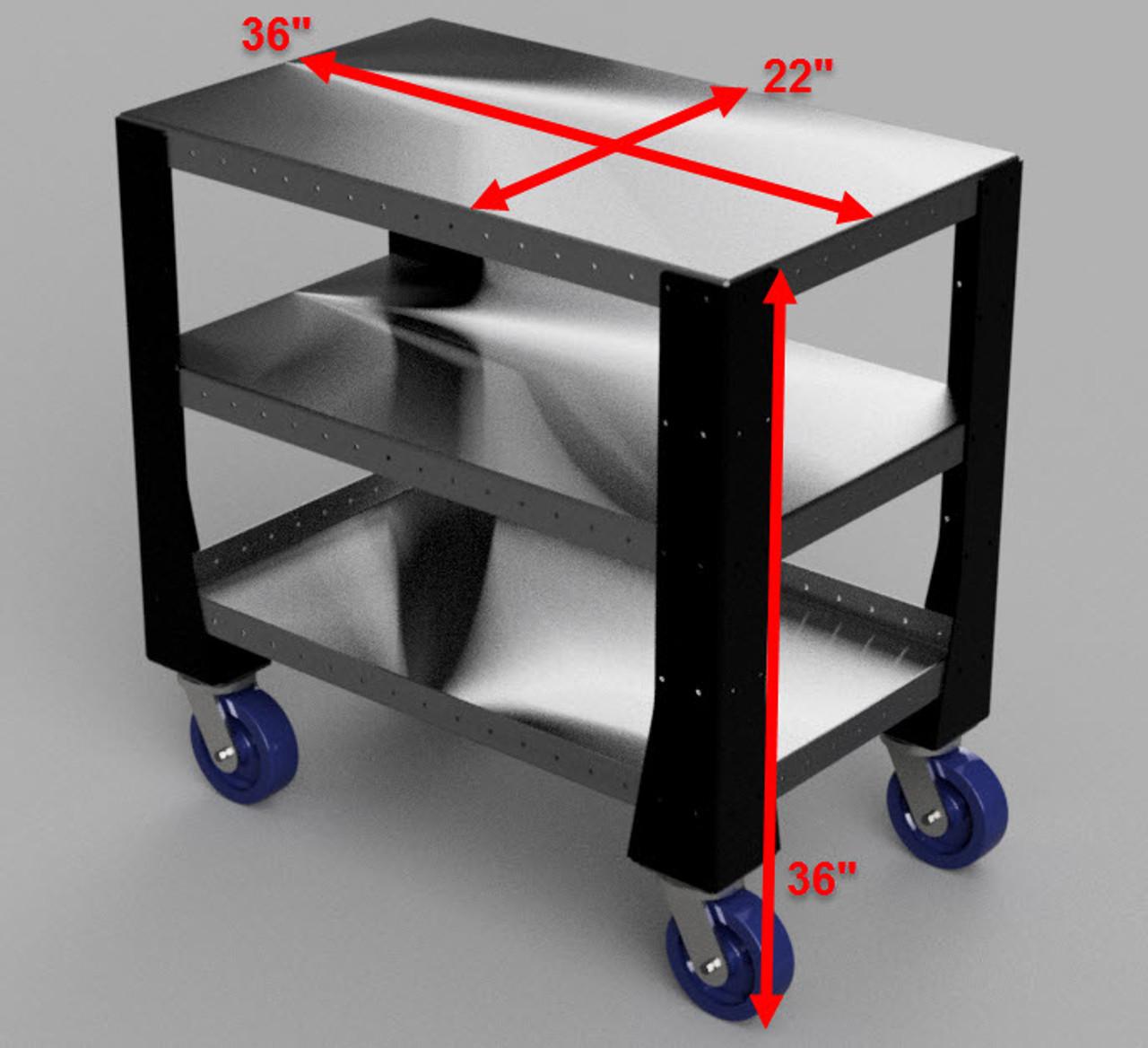 Professional Grade Industrial Push Cart