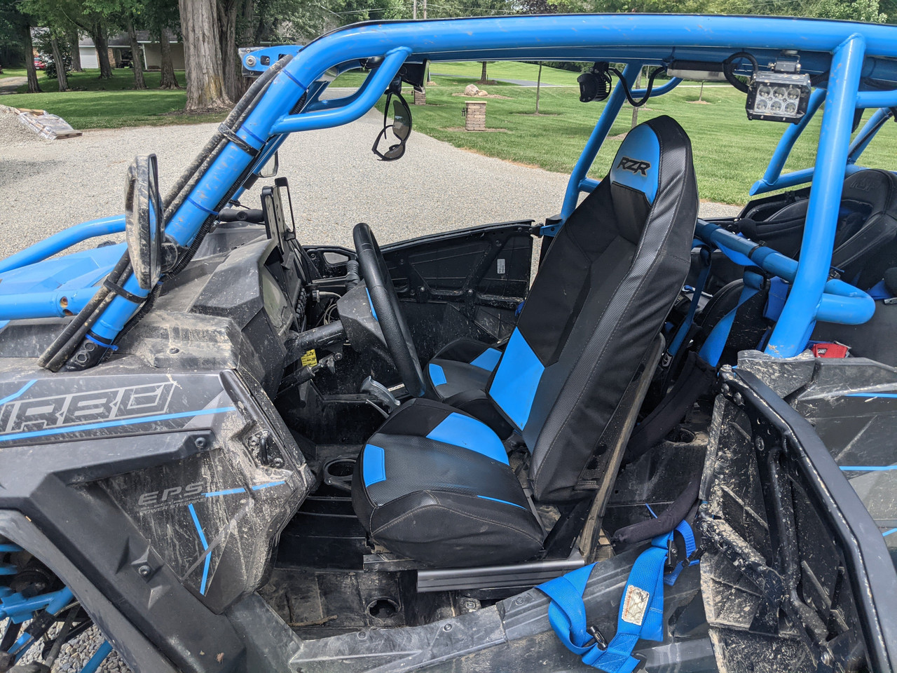RZR Ultra Slider Seat Riser | 4.5in Additional Slide | 2in Rise | RZR-201092