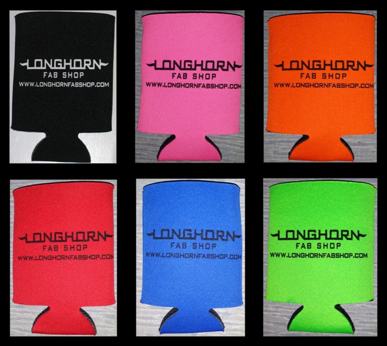 Longhorn Koozie (Qty 2) (200926)
