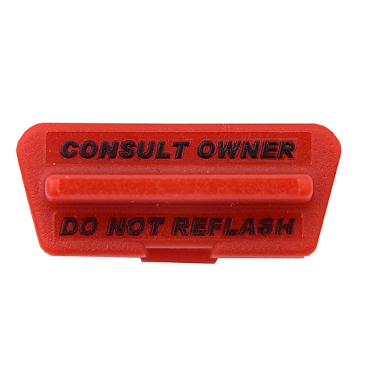 OBD2 OBDII Port Cover Do Not Reflash