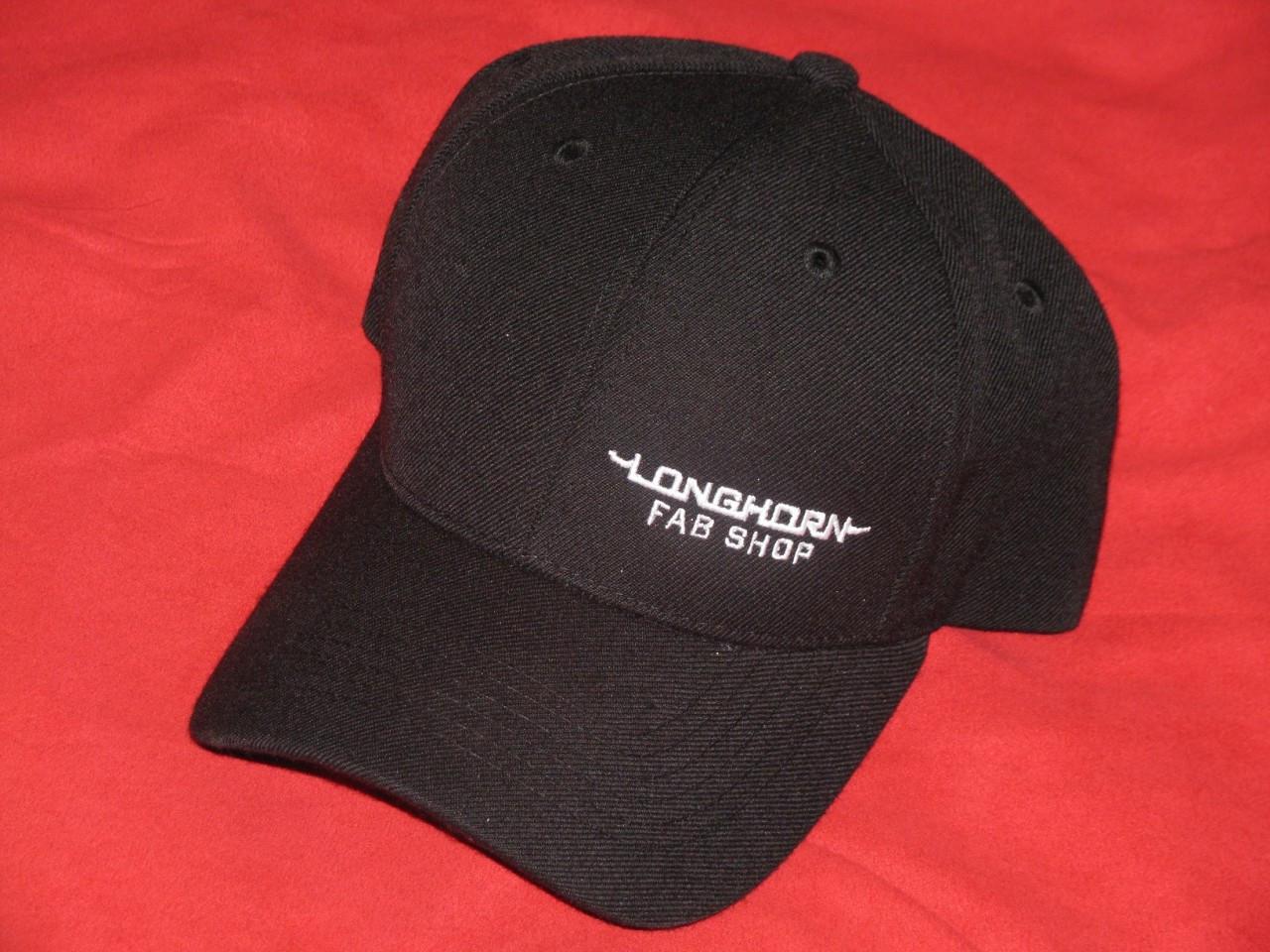 Longhorn Fab Shop Black Hat (200931)