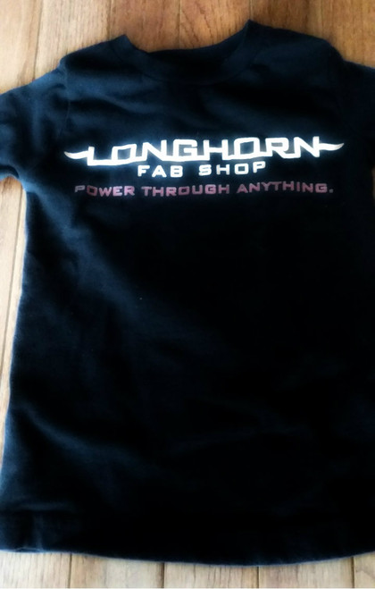 Longhorn- Kids Flag/Logo shirt