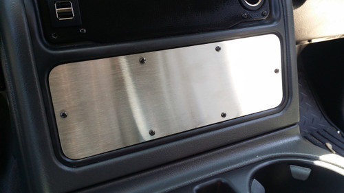 Longhorn Center Console Switch Panel (Blank) (200972)