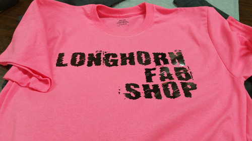 Longhorn Fab Shop Women's Foil T-shirt (200980)